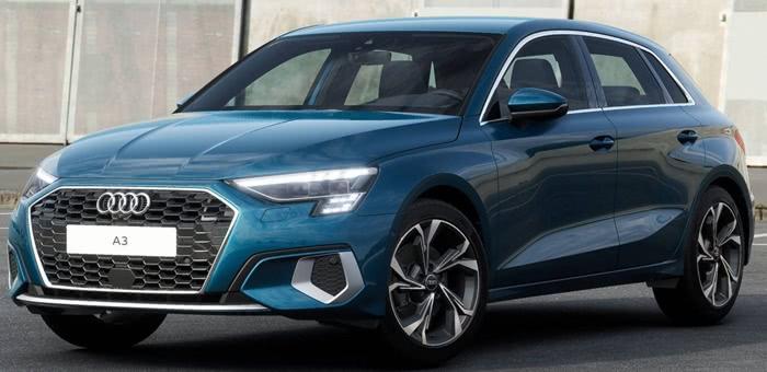audi-a3-sportback Lançamentos de Carros da AUDI para 2022